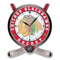 Wincraft NHL Plaque Wall Clock; Chicago Blackhawks