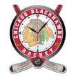 Wincraft NHL Plaque Wall Clock; Chicago Blackhawks