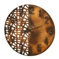 Woodland Imports Oversized 28'' Night and Day Wall Clock
