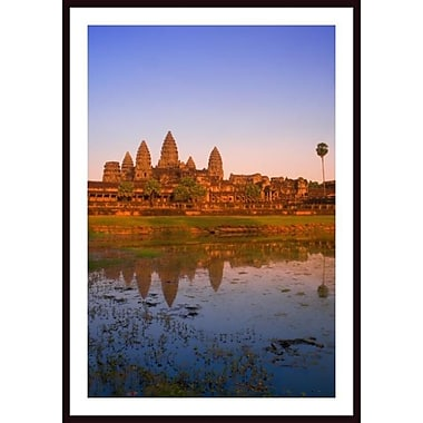 Printfinders 'Angkor Wat Temple, Cambodia' by Carson Ganci Framed Photographic Print