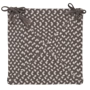 Colonial Mills Tiburon Dining Chair Cushion (Set of 4); Misted Gray
