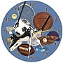 Lexington Studios Sports 10'' Little Athlete Wall Clock