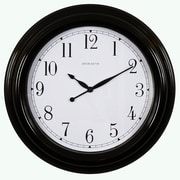 Ashton Sutton Indoor/Outdoor 18'' Wall Clock