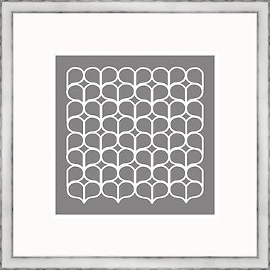 Melissa Van Hise Gray Geometrics lV Framed Graphic Art