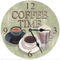 Lexington Studios 18'' Coffee Time Wall Clock