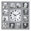 Zingz & Thingz Familiar Faces Photo Wall Clock