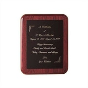 Howard Miller Recognition Awards Commemorative I Textual Art Plaque