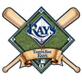 Wincraft MLB High Def Plaque Wall Clock; Tampa Bay Rays