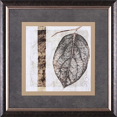 Art Effects Fall Leaves I by Christine Zalewski Framed Painting Print