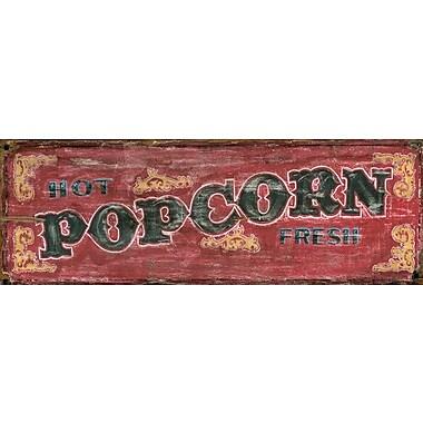Vintage Signs Red Horse Popcorn Vintage Advertisement Plaque