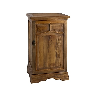 Antique Revival PL Home Stand Cabinet; Natural