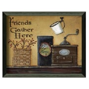Timeless Frames Friends Gather Here by Pam Britton Framed Graphic Art