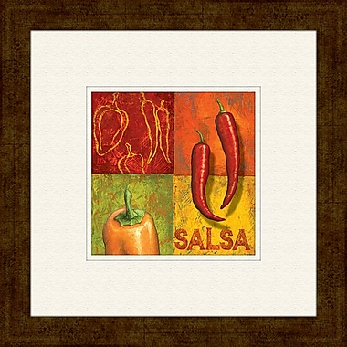 PTM Images Chili A Framed Graphic Art