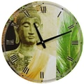 Oriental Furniture 15.75'' Buddha Wall Clock