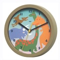 Bai Design 8'' Dinosaurs Children's Wall Clock