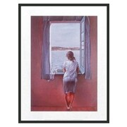Frames By Mail 'Figure at Window' by Salvador Dali Framed Painting Print