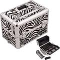 Sunrise Cases Professional Aluminum Cosmetic Makeup Case