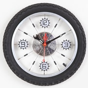 Maples Clock 16'' Bike Wall Clock