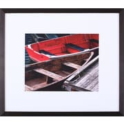 Art Effects 'Wooden Rowboats X' by Rachel Perry Framed Photographic Print