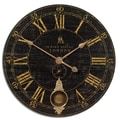 Uttermost Bond Street Oversized 30'' Wall Clock
