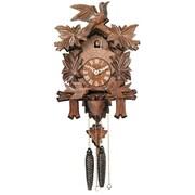 River City Clocks Cuckoo Wall Clock; Brown