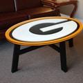 Fan Creations NFL Logo Coffee Table; Green Bay Packers