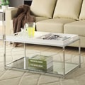 Convenience Concepts Palm Beach Coffee Table; White