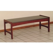 Wooden Mallet Dakota Coffee Table; Dark Red Mahogany