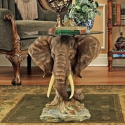 Design Toscano Lord Earl Houghton's Trophy Elephant Coffee Table