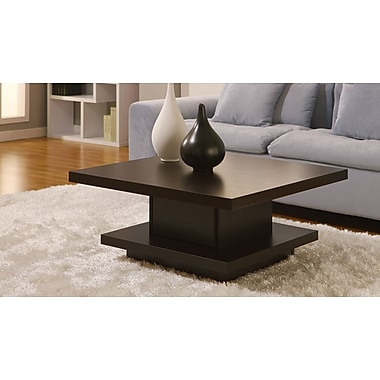 Hokku Designs Audra Coffee Table; Coffee Bean