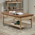 Winners Only, Inc. Quails Run Coffee Table; Almond / Wheat