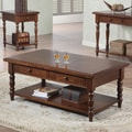 Winners Only, Inc. Quails Run Coffee Table; Derby Brown