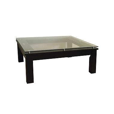 Plateau SL Series Coffee Table; Clear Glass