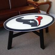Fan Creations NFL Logo Coffee Table; Houston Texans