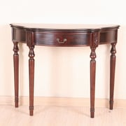 International Caravan Windsor Hand Carved Console Table