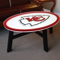 Fan Creations NFL Logo Coffee Table; Kansas City Chiefs