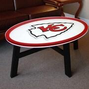 Fan Creations NFL Logo Coffee Table; Kansas City Chiefs