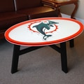 Fan Creations NFL Logo Coffee Table; Miami Dolphins