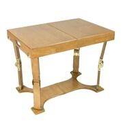 Spiderlegs Portable Folding Coffee Table; Light Walnut