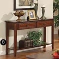 Winners Only, Inc. Topaz Console Table; Cherry