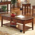 Winners Only, Inc. Topaz Coffee Table; Cherry