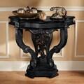 Design Toscano The Val de Loire Console Table; Ebony