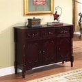 InRoom Designs Console Table; Cherry