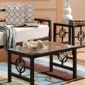 In Style Furnishings Medallion Coffee Table; Deep Bronze