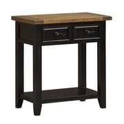 Hillsdale Tuscan Retreat Console Table; Black