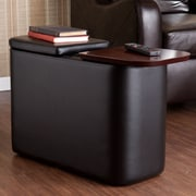 Wildon Home   Murphy Entertainment Coffee Table; Black