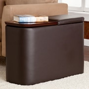 Wildon Home   Murphy Entertainment Coffee Table; Caf  Brown