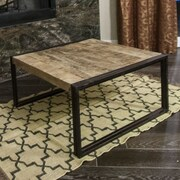 Timbergirl Coffee Table; 16'' H x 35'' W x 35'' D