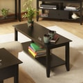 Convenience Concepts American Heritage Coffee Table; Espresso