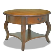 Leick Favorite Finds Coffee Table; Brown and Cherry